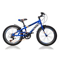 "Dino Bikes 20 fast blue (2017) - Detský bicykel 20"""