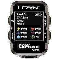 Lezyne Micro Color GPS Black - Cyklocomputer