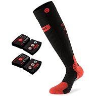 Lenz set heat sock 5.0 toe cap slim fit + lithium pack rcB 1200/black-red - Vyhrievané ponožky