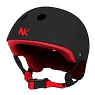 Nokaic helma šedočervená M - Cyklistická helma