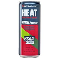 Nutramino HEAT BCAA – strawberry/watermelon – 330 ml - Športový nápoj