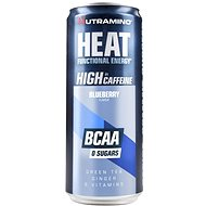 Nutramino HEAT BCAA – blueberry – 330 ml - Športový nápoj