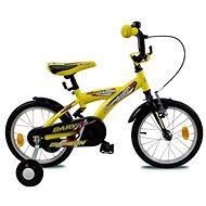 "Olpran Bary 14"" žltá - Detský bicykel 12"""
