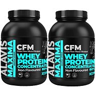ALAVIS Maxima Whey Protein Concentrate 80 % 2 200 g 1+1 - Proteín