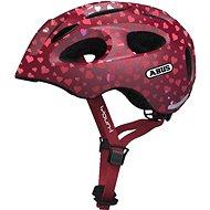 ABUS Youn-I cherry heart - Prilba na bicykel