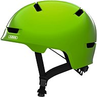 ABUS Scraper Kid 3.0 shiny green S - Prilba na bicykel