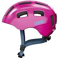 Prilba na bicykel ABUS Youn-I 2.0 sparkling pink