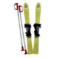 ACRA Baby Ski 70 cm žlutá - Lyžiarska súprava