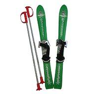 ACRA Baby Ski 70 cm zelená  - Lyžiarska súprava