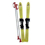 ACRA Baby Ski 90 cm žlutá - Lyžiarska súprava