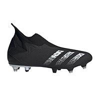 Adidas Predator Freak .3 Laceless SG čierna/biela EU 44/267 mm - Kopačky