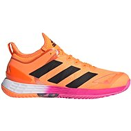 Adidas adizero Ubersonic 4, Orange/Black, size EU 42.5/259mm - Tennis Shoes