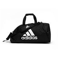Adidas 2 in 1 Bag Polyester Combat Sport čierna/biela - Taška