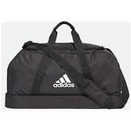 Adidas Tiro Duffel Bag Bottom Compartment M Black, White - Taška