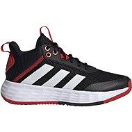 Adidas OWNTHEGAME 2.5 čierna/biela EU 31,5/195 mm - Halovky