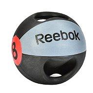 Reebok Medicineball dvojitý úchop 8kg - Medicinbal