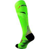 ROYAL BAY® Neon 2.0, 39-41/C3, zelená - Kompresné podkolienky
