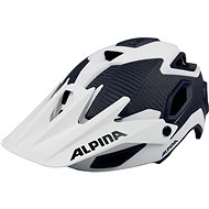 Alpina Rootage white-carbon veľkosť 57 až 62 cm - Prilba na bicykel