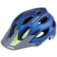 Alpina Carapax darkblue-neon - Prilba na bicykel