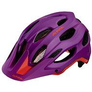Alpina Carapax purple-neon red veľ. 52 – 57 cm - Prilba na bicykel