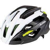 Alpina Valparola RC white-titanium-neon - Prilba na bicykel