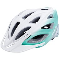 Alpina Seheos L.E. white-smaragd - Prilba na bicykel