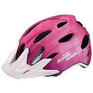 Alpina Carapax Jr. Flash pink-white M - Prilba na bicykel