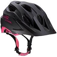 Alpina Carapax Jr. steelgrey-black-pink M - Prilba na bicykel