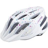 Alpina FB Jr. 2.0 Flash white polka dots M - Prilba na bicykel