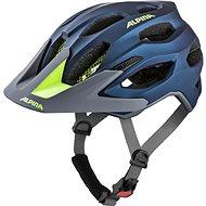 ALPINA CARAPAX 2.0 dark blue-neon - Prilba na bicykel