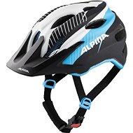 CARAPAX JR. white-black-blue 51 cm – 56 cm - Prilba na bicykel
