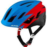 Alpina Pico Blue-Red-Black Gloss 50 – 55 cm - Prilba na bicykel