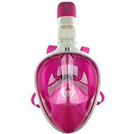 Celoobličejová maska na šnorchlovánírůžová vel. S/M - Potápačská maska