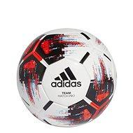 Adidas TEAM Match Ball, WHITE/BLACK/SOLRED/BR, veľkosť 5 - Futbalová lopta