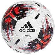 Adidas TEAM Match Ball, WHITE/BLACK/SOLRED/BR - Futbalová lopta