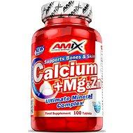 Amix Nutrition Ca + Mg + Zn, 100 tbl - Minerály