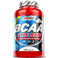 Amix Nutrition BCAA Elite Rate, 550 cps - Aminokyseliny