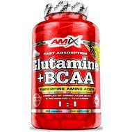Amix Nutrition L-Glutamin + BCAA, 360 cps - Aminokyseliny