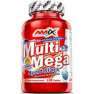 Amix Nutrition Multi Mega Stack, 120 tabliet - Vitamín