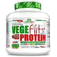 Amix Nutrition Vege-Fiit Protein, 2000 g, Double Chocolate