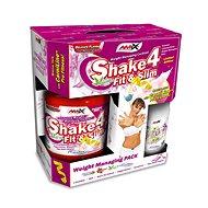 Amix Nutrition Shake 4 Fit&Slim, BOX, 1 000 g, Strawberry + present - Športový nápoj