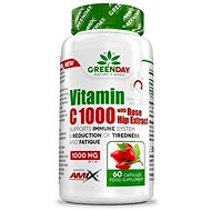 Amix Nutrition GreenDay® Vitamin C 1000 with Rosehip Extract, 60 Capsules - Vitamin