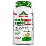Amix Nutrition GreenDay® ProVEGAN Vitamin C 1000 Immuno FORTE, 60 Capsules - Vitamin