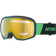Atomic Count Stereo Dark Blue Green - Lyžiarske okuliare cbff6b5b30a