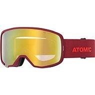 Atomic REVENT STEREO Red - Lyžiarske okuliare