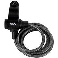 AXA Rigid 180/8 kľúč transparent antracitový - Zámok na bicykel