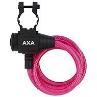 AXA Zipp 120/8 kľúč ružový - Zámok na bicykel
