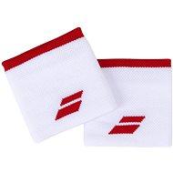 Babolat Wristband Logo wh.-tomato red - Potítko