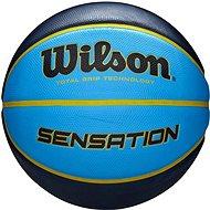 Wilson Sensatin SR295 Black/Blue - Basketbalová lopta