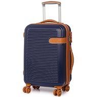 Rock Valiant TR-0159/3-S ABS - modrá - Cestovný kufor s TSA zámkom